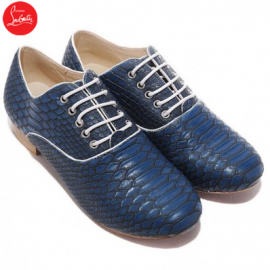 Christian Louboutin Alfredo Loafers Navy