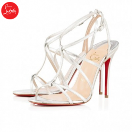 Christian Louboutin youpiyou Silver 100mm Leather Womens Special